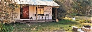 There are several chalets for couples and small families